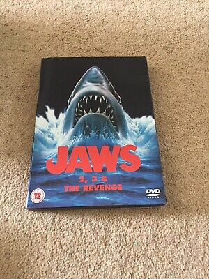 Jaws 2/Jaws 3/Jaws - The Revenge (DVD, 2009, Box Set)