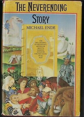 The Neverending Story by Michael Ende First Edition Hardcover Book Dust Jacket
