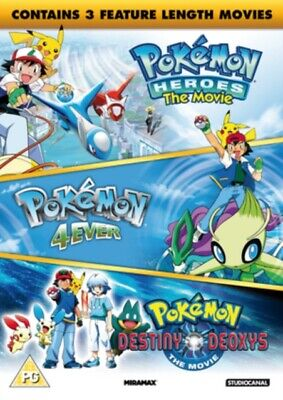 Pokemon Triple Movie Collection DVD *NEW & SEALED*