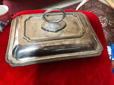 Silver Plate Antique Vegetable Tureen. Price HUDDERSFIELD