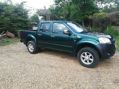 Great Wall Steed s double cab pick up 4x4 Cat S