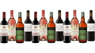 5-Star Winery McWilliam's & Grant Burge Wine Mixed 12x750ml FAST & FREE SHIPPING