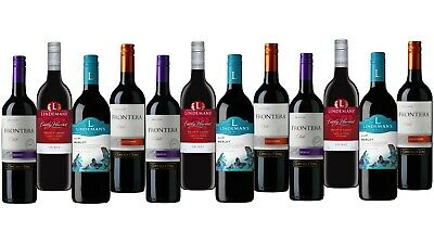 5-Star Winery Frontera & Lindeman's Wine Mixed 12x750ml FAST & FREE SHIPPING!!