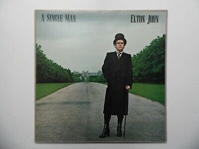 Elton John - A Single Man LP Vinyl Record