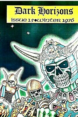 Dark Horizons #15  British Fantasy Fanzine 1976 Vfn Condition