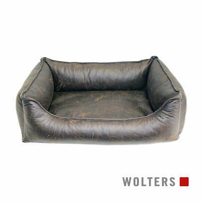 Wolters Dog Bed Senator Lounge Antique Brown, Various Sizes, New