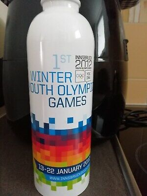 """Trinkflasche """"Allu.""""Winter Youth Olympic Games,2012"""