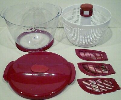 KITCHENAID SALAD AND Fruit Spinner 3 Dividers - $19.99 | PicClick