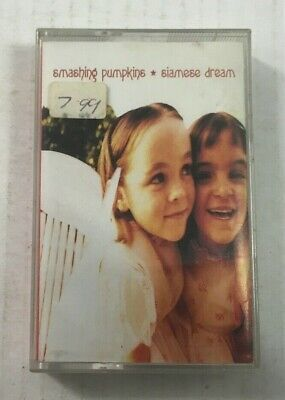 "Smashing Pumpkins ""Siamese Dream"" Tape Cassette - Never Played *Virgin 1993*"