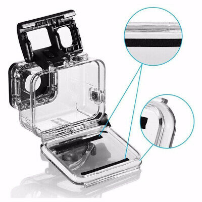 Waterproof Housing Case for GoPro Hero 5 6 7 Protective Shell with Bracket D0F1N
