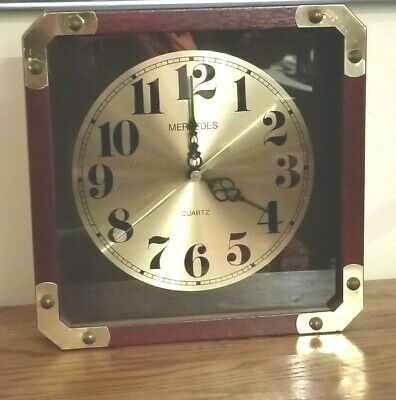 Vintage Foxklox Quartz Wall Clock Made In The Usa 3499