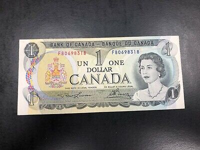1973 UNC Canada one dollar Banknote #318 - Nice Note!!