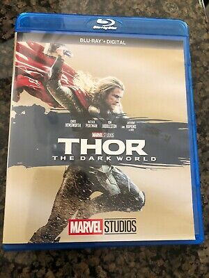 Thor The Dark World Blu-Ray Disc ONLY