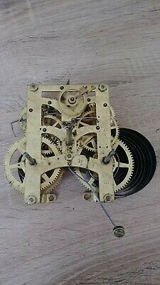 Vintage New Haven Clock Movement Made In Usa