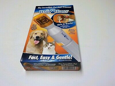 Pedi Paws Nail Trimmer Grinder Grooming Tool Care Clipper Pet Dog Cat