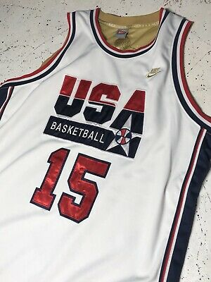 "288390d903aa1 Vintage Earvin ""Magic"" Johnson USA Basketball Jersey Dream Team 2XL  Authentic"