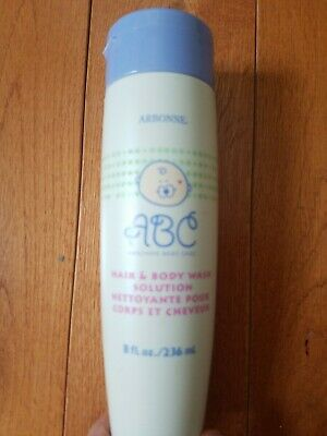 NEW Arbonne ABC Baby Care Hair and Body Wash 8oz