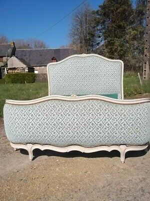 French Double Louis Xv Revival Corbielle Bed Quality Piece