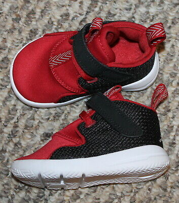 7b43be05d40 Toddler Boys Nike Air Jordan Eclipse Chukka Shoes (No laces Red) -