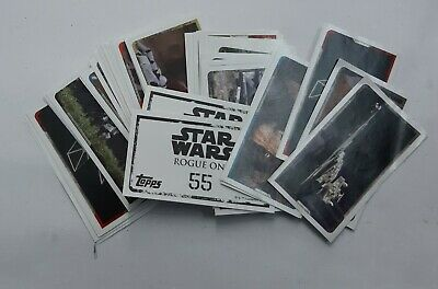 Star Wars Lote 59 Cromos - Rogue One
