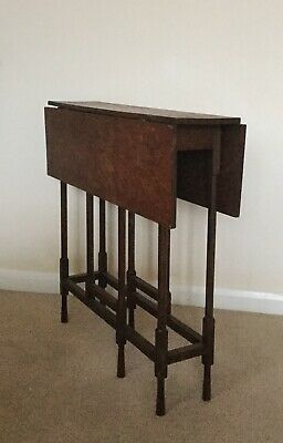 Antique Mahogany Sutherland Drop Leaf Table