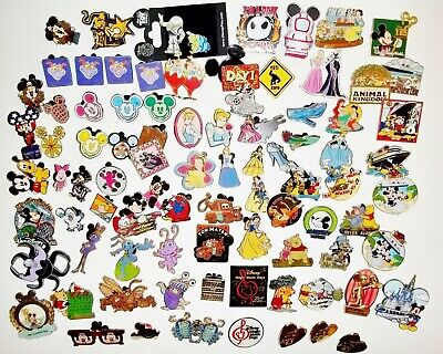 Disney pin collection 213 item LOT - 148 Trading Pins, 8 Propin and 57 Store