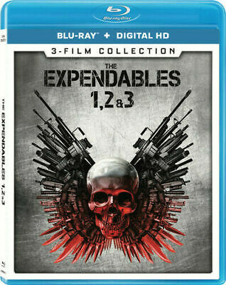 Expendables 3 Film Collection Blu Ray No Dc Pre-Owned Free Shipping!
