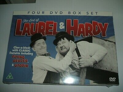 The Best Of Laurel and Hardy DVD Box Set 2013 The Wizard of Oz, Flying Deuces