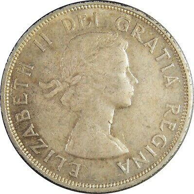 1960 Canada Silver Dollar in EXTREMELY FINE Condition (167)