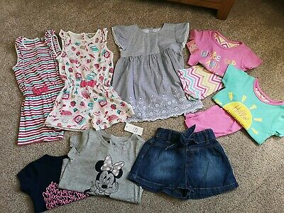 Girls 18-24 Month Ultimate Summer Bundle Incl Playsuits, Dresses, Shorts and...