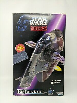 Star Wars Boba Fett's Slave I Vehicle from Shadows of the Empire 1996