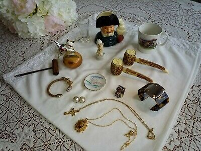 Mixed Lot Of Vintage Collectables & Some Jewellery.