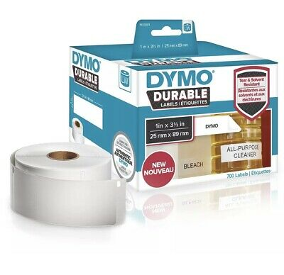 DYMO 1933081 DirectLabel-etikettes, 89mm x 25mm, Pack qty 700 - 1933081