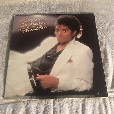 Michael Jackson~Thriller Lp~82 Epic~Qe 38112~Plays Near Mint~Vg++/Vg+