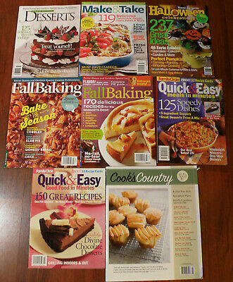 Three Bhg Christmas Recipe Booklets Cookies Desserts Better Homes