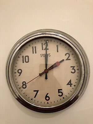 Smiths Sectric Wall Clock Vintage