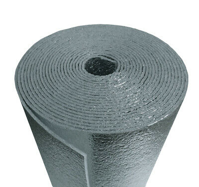 US Energy 3MM Reflective Foam Core Insulation, RADIANT BARRIER  48''X10ft roll
