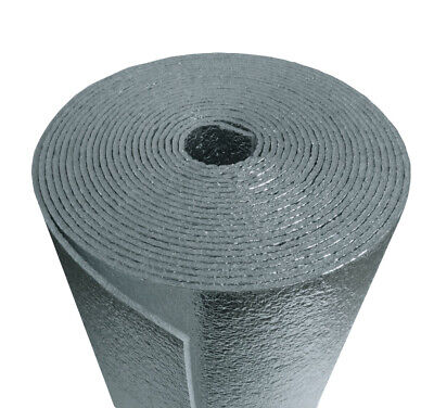 US Energy 3MM Reflective Foam Core Insulation, RADIANT BARRIER  24''X10ft roll