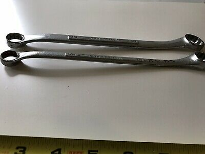 Vtg. Craftsman -V-Series Offset Double Box End Wrenches