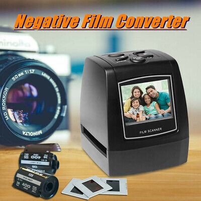 35/135mm Negative Film Slide Photo Viewer Scanner USB Photo Picture Converter AU