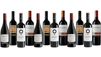 Premium Red Mix Featuring Equilibrio 4 Monastrell Mixed Wine Pack (12x750ml)