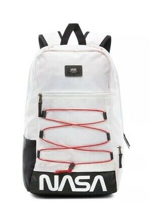 f7d1c3f07a2 Vans x NASA Snag Plus Backpack Space White Limited Edition Rare New