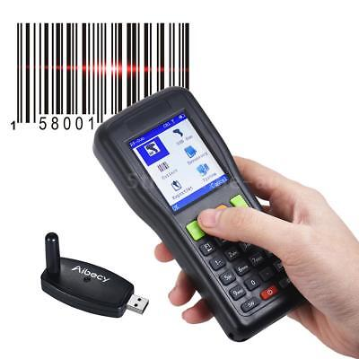 Aibecy Mobile Terminal Wireless 1D Scanner Barcode Inventory Data Collector Q6J9