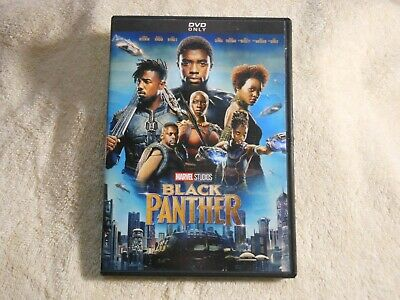 Black Panther  MARVEL STUDIOS(DVD, 2018) **GEM MINT**