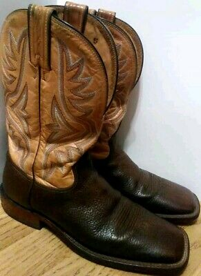 4a4c13fcc24 TONY LAMA SIGNATURE Series Leather Boots - Mens 13 B - Brown Brushed ...