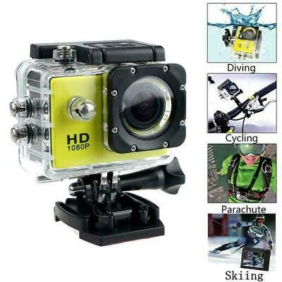 4k Full HD Sports Action Camera Waterproof Diving DVR Camcorder Go Prop Cam N7E2