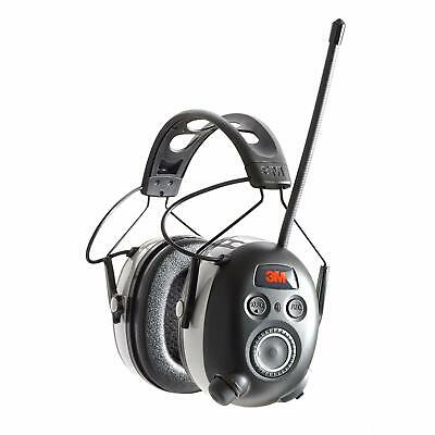 3M Worktunes Wireless Hearing Protection Bluetooth Technology and AM/FM Radio