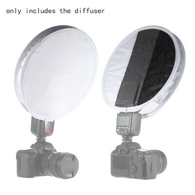 Universal Portable Softbox Diffuser Disc for All Flash Speedlite Speedlight D6F2