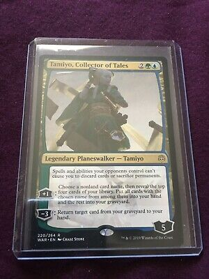 Magic The Gathering Tamiyo, Collector Of Tales War Of The Spark