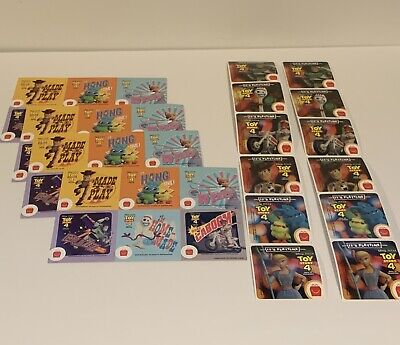 McDonald's 2019 Toy Story 4  Set Stickers 36 Total McDonalds